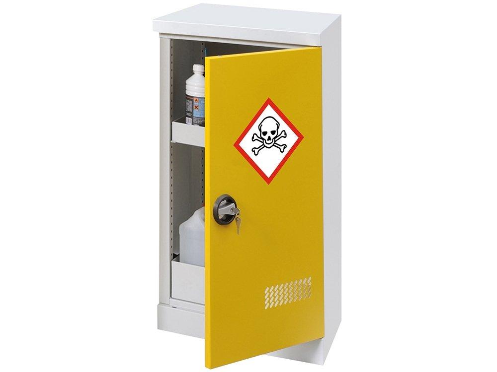 Armoire de sécurité basse - 1 porte - capacité de rétention : 4 L