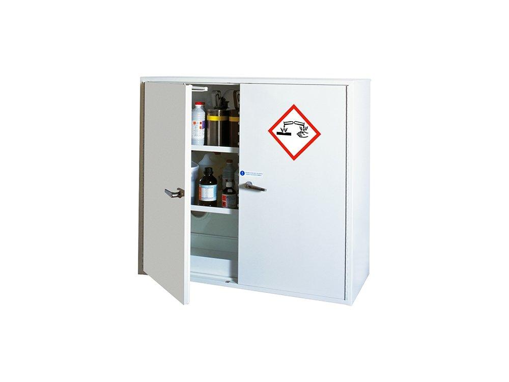 Armoire de sécurité pour corrosifs - Rétention : 82 L