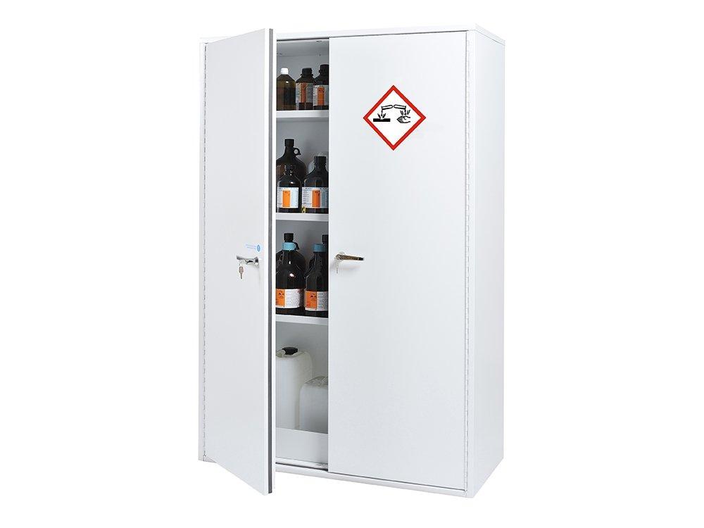 Armoire de sécurité pour corrosifs - Rétention : 95 L
