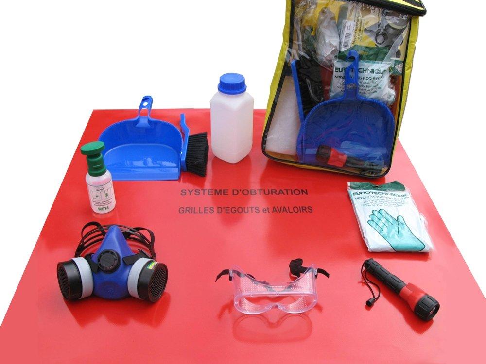 Valises équipements EPI pour l'ADR conformes à la réglementation du transport de marchandises et matières dangereuses. DIFOPE fournisseur de valises équipement ADR