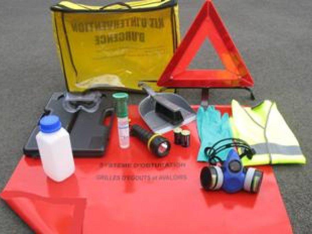 KCADR31 : Valise équipement EPI ADR avec sacoche en nylon