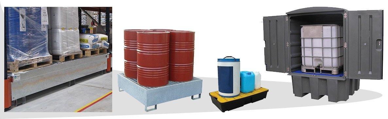 Découvrez un large choix de bacs de rétention (en acier ou PEHD) - DIFOPE