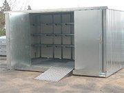 Bungalows de stockage avec rétention pour produits dangereux - DIFOPE